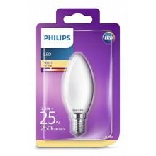 PHILIPS ŻARÓWKA LED 2,2W 25W 2700K E14 świeczka