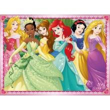 Puzzle 200 Księżniczki Disneya Ariel Śnieżka Bella