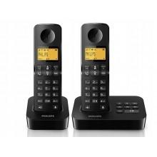TELEFON INTERKOM DUO 2 słuchawki PHILIPS D205