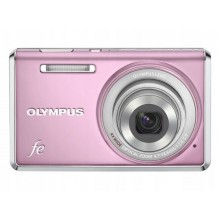"""OLYMPUS fe-4030 PINK 4xZoom 14Mpx 2.7"""" 4,7-18,6mm"""