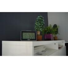 TERMOMETR HIGROMETR MEBUS STACJA POGODY 40659 LCD
