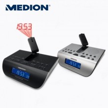 RADIOBUDZIK Z PROJEKTOREM MEDION E66212 KOLORY