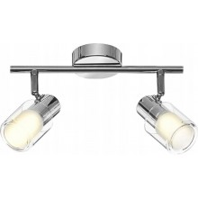 -30% LAMPA sufitowa KINKIET SPOT LED 2 PUNKTOWA 8W