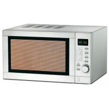 Mikrofalówka kuchenka GRILL 20L 1000W 9 prog INOX